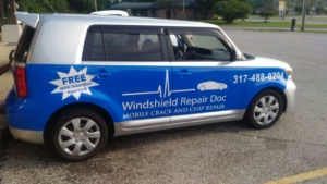 mobile windshield rock chip repair